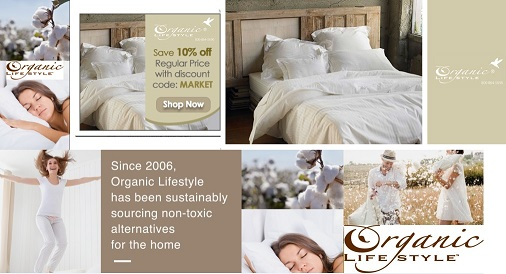 Shop at Organic Lifestyle for Eco-friendly Products - Linens - Housewares