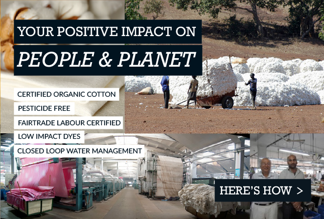 Your personal impact on people and planet