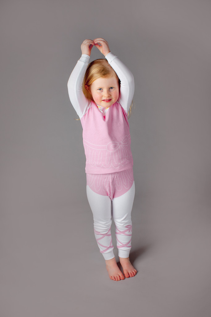 Adorable Kid's Pajama Set - Ballerina