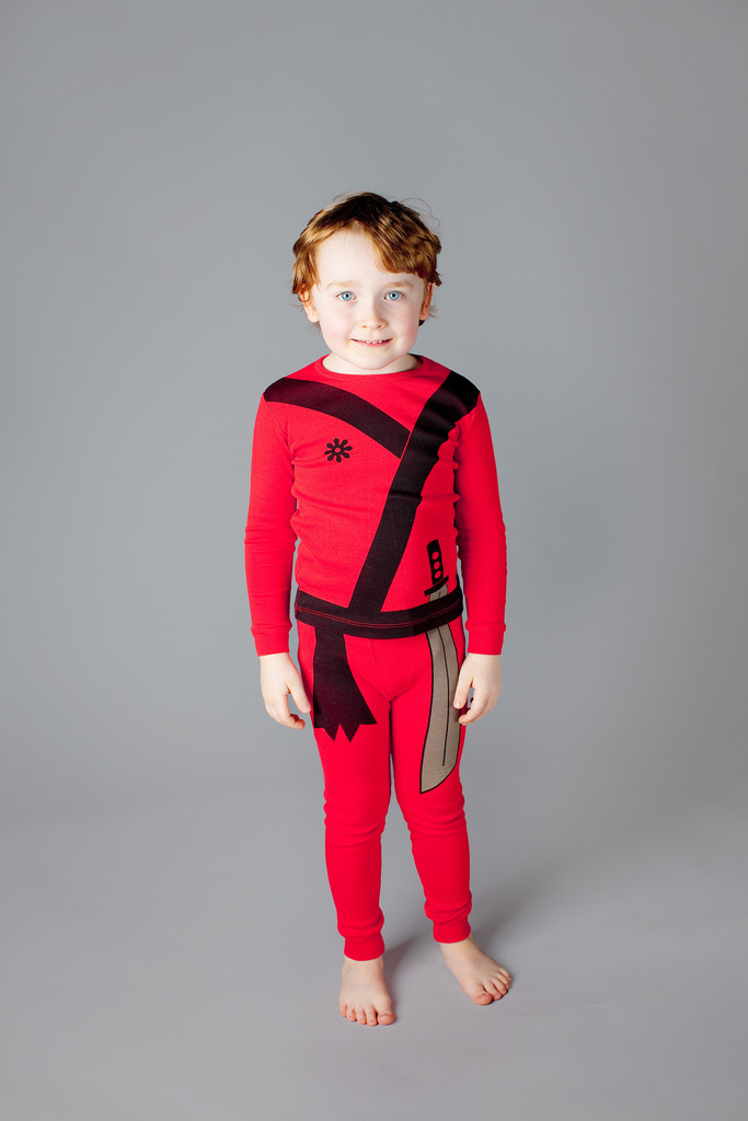Adorable Kids Pajama Set- Ninja