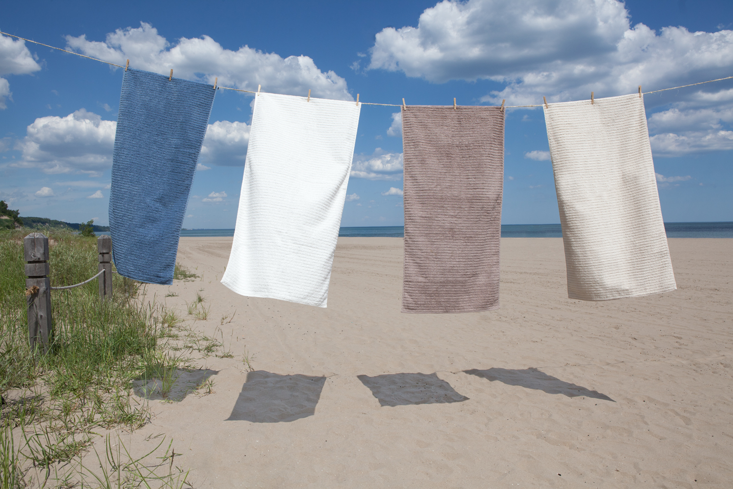 GOTS And Fairtrade Certified Organic Cotton Bath Towels