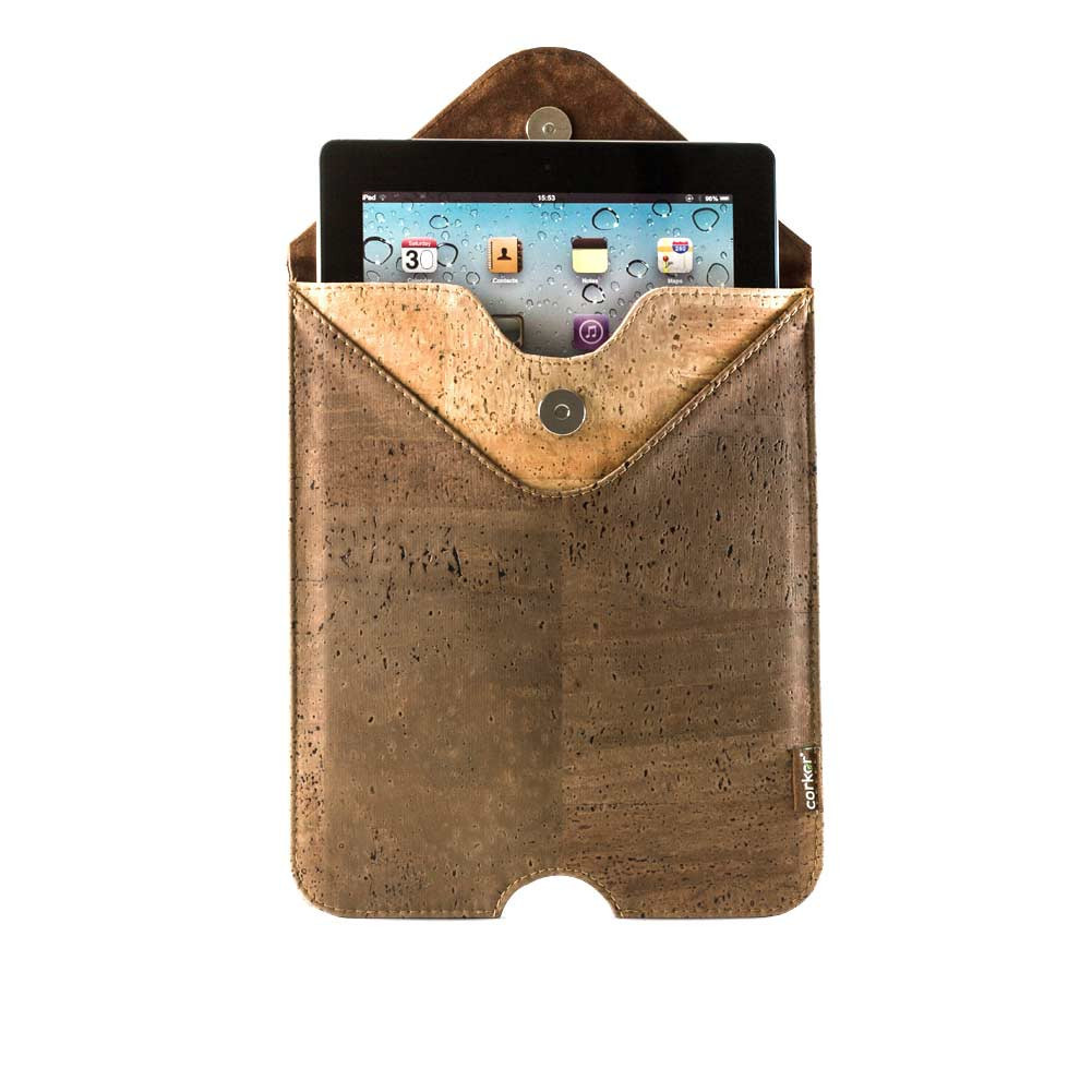 5b874d2a0e49a Vegan - animal cruelty free   Cork iPad Case Sleeve