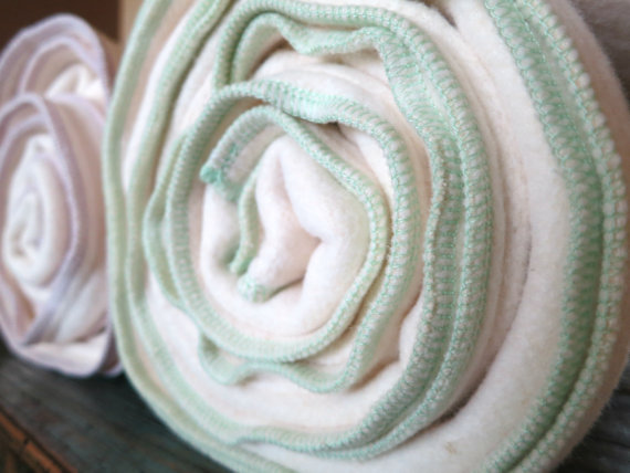 Fleece Baby Blanket - Organic Hemp And Cotton
