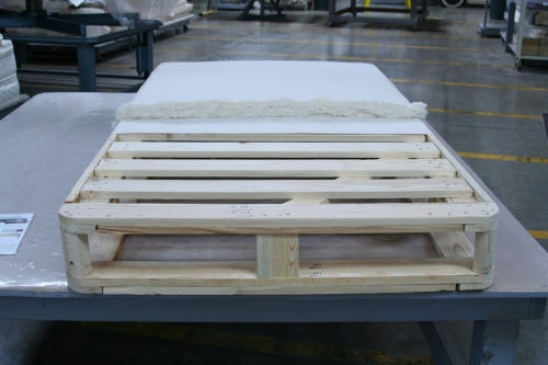Untreated Wood Slat Foundation - American Pine