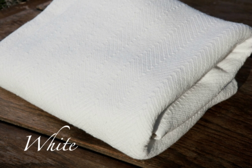 Herringbone Cotton Throws And Blankets