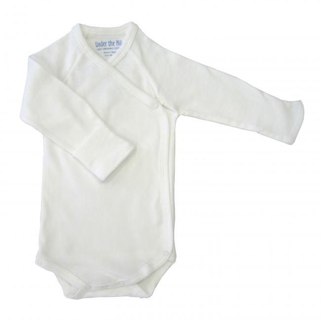 Long Sleeve Body Suit with Side Snaps (preemie size and up)