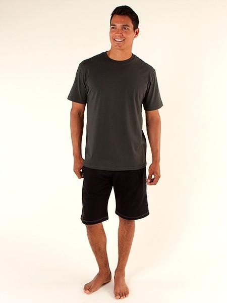 organic Clothing : Mens T-Shirt - Crew Neck