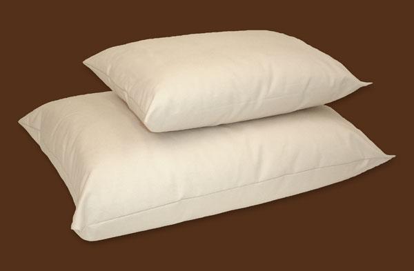 Flat pillow (low loft) : Washable PLA pillow - Slim loft options