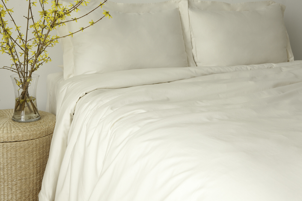 Organic Bedding Sateen Organic Cotton Duvet Cover