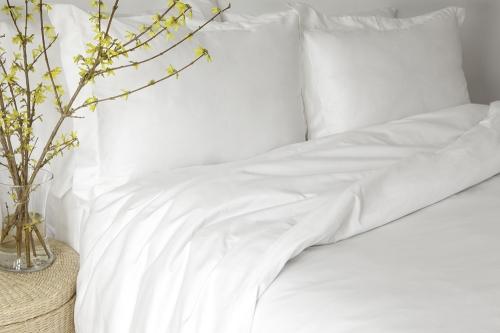 Bedding Set - White Or Natural - Sateen