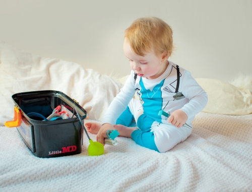 Adorable Kid's Pajama Set - Doctor