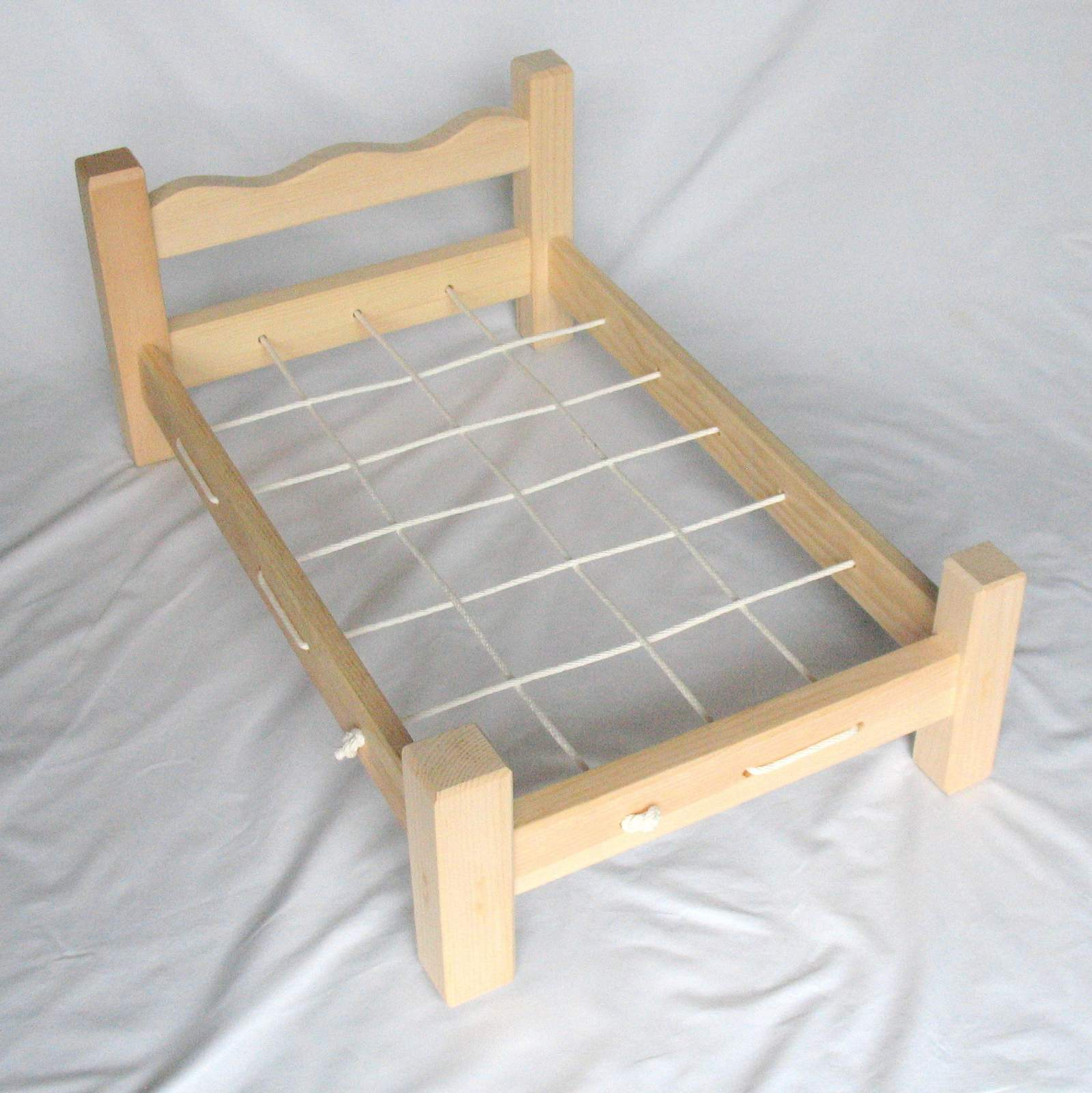Wooden Doll Bed For American Girl MapleLea