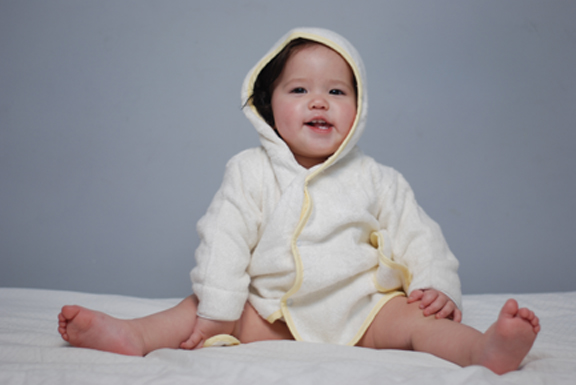 Bamboo Baby Bathrobe