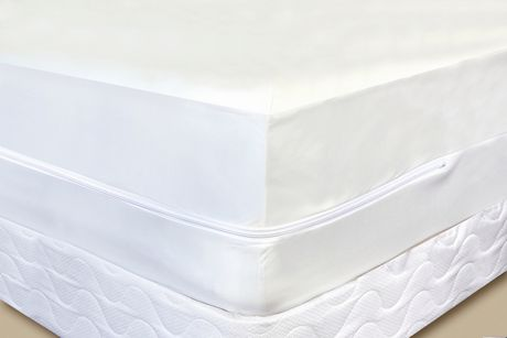 organic bedroom : mattress encasement cover - waterproof bed bug