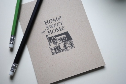 Change Of Address Postcards – Home Sweet Home