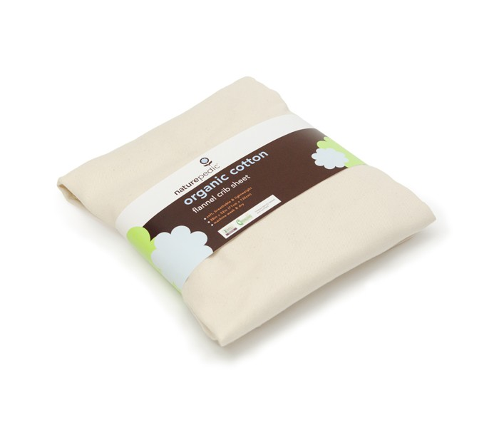 Fitted Crib Sheets - Organic Flannel