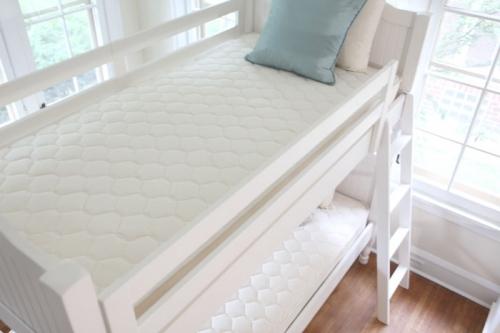 Organic Bedroom Quilted Deluxe Innerspring Mattress