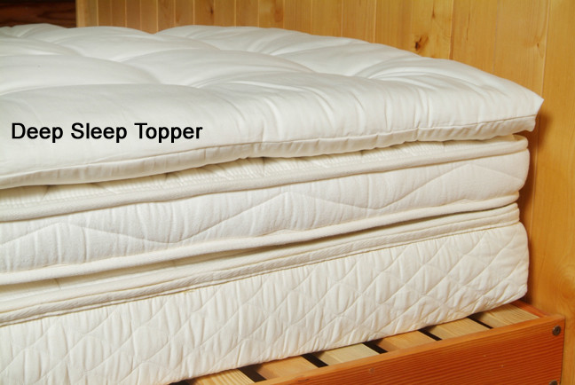 Organic Pillow Top Mattress Topper Photos