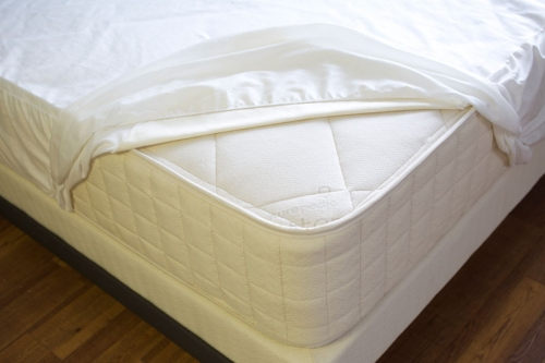 Organic Mattress Accessories Waterproof Fitted Cotton