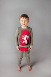 Adorable Kid's Pajama Set - Knight
