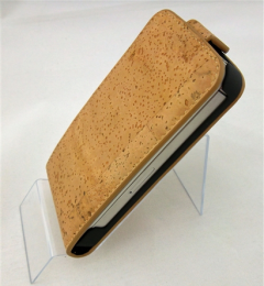 Galaxy III Flip Case Natural Cork
