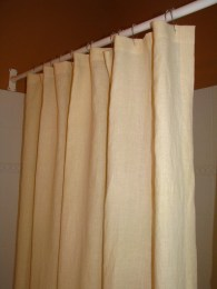 Hemp Shower Curtain - natural
