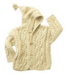 Knit Sweater w/ Hood