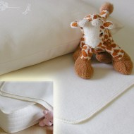 Wool mattress Pad - Crib and Puddle Size
