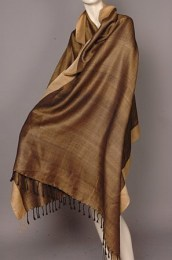 Padma Oak Fairtrade Silk Scarf