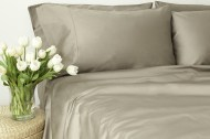 Bedding Sheet Set - Sateen Grey