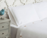 Solid Sateen White Duvet Cover