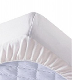 Fitted Waterproof Mattress Pad - Bed Mite Resistant