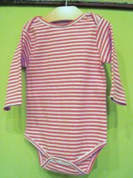 Thin Stripe Onesie