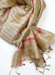 Ananya fairtrade silk scarf