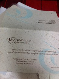 Eco Gift Certificate