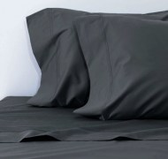 Bamboo Bedding Set - Charcoal Grey