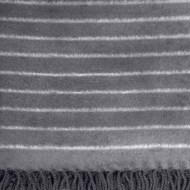 Bamboo Throw Blanket - we call it Panther Stripe