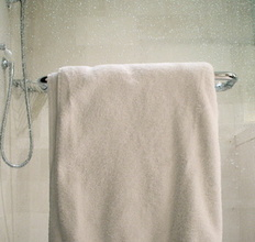 Bath Towel - organic cotton ribbed