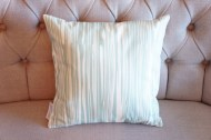 Aqua Knotty Pine non-toxic Cushion