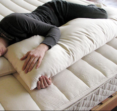 Organic Full Body Pillow if pregnant or side sleepers