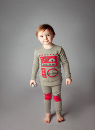 Adorable Kids Pajama Set- Robot