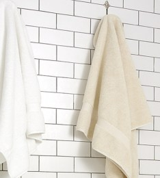 Spa Style Waffle Organic Towels