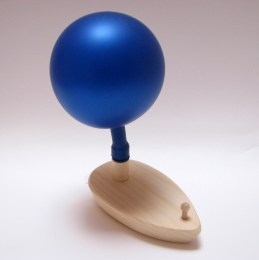 Wooden Balloon Boat Toy