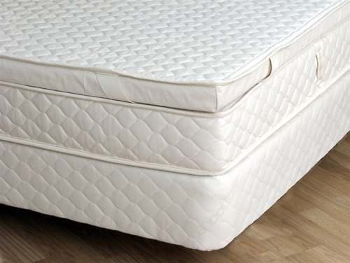 Natural Foam Latex Rubber Pillowtop (Made And Shipped Within USA)