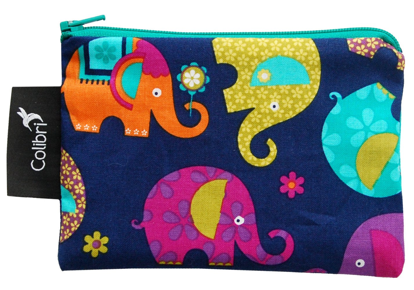 Reusable Snack Bags Elephants