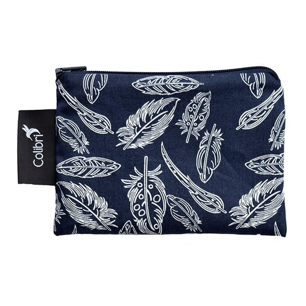 Reusable Travel Snack Bags Feather
