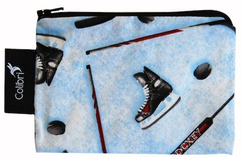 Reusable Snack Bags Hockey
