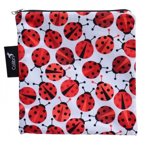 Reusable Snack Bags Lady Bugs