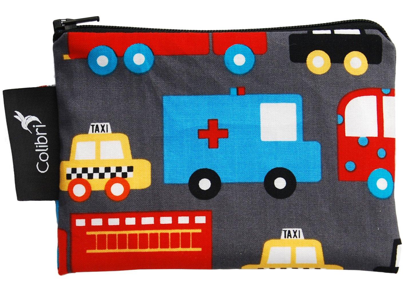 Organic Clothing Reusable Snack Bags Trucks