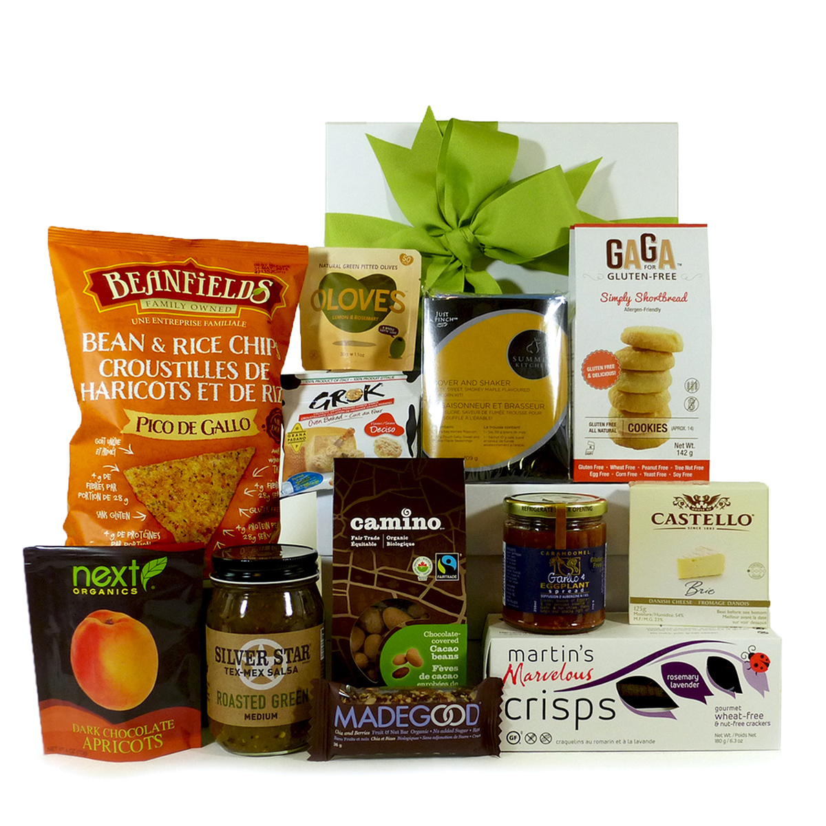 Gourmet gift baskets for food lovers sweet and savoury gluten free sweet and savoury gluten free gift basket xl negle Gallery